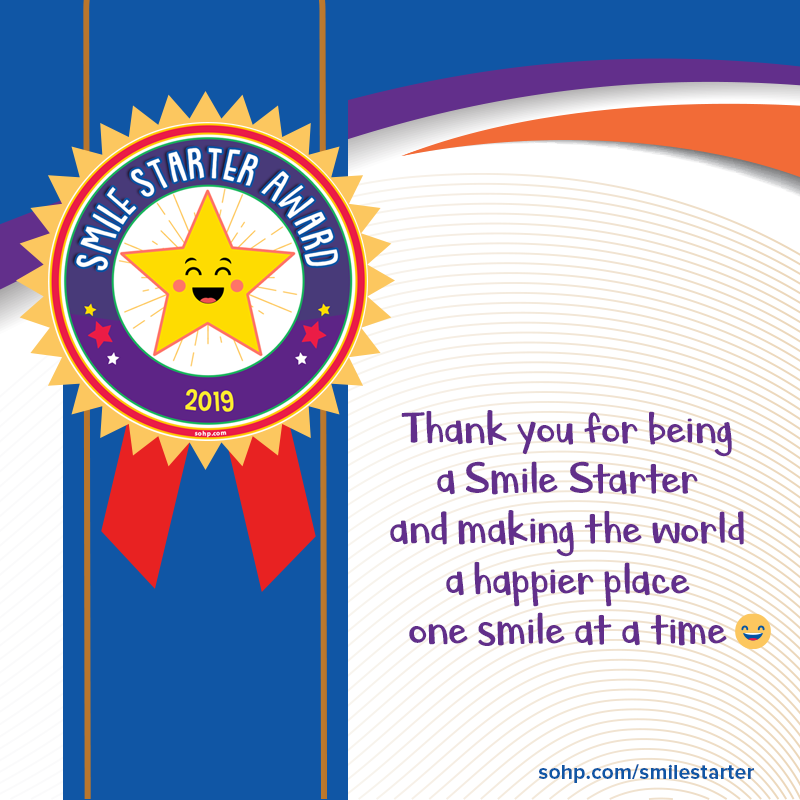 Smile Starter Graphics - Society Of Happy People